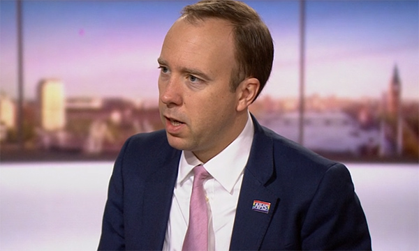 Matt Hancock declines to promise pay rise this year for NHS nurses | RCNi