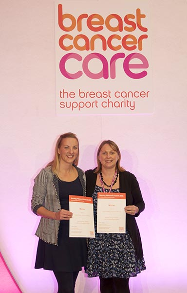 Breast Cancer Care Nursing Network Awards in London
