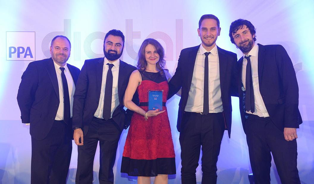 Digital Brand of the Year winners