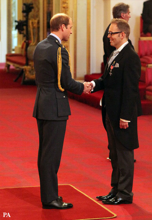 Former nurse of the year picks up MBE