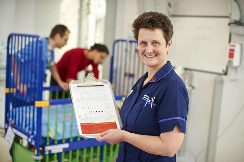 Nursing Standard Nurse Awards nominee, Gillian Robinson
