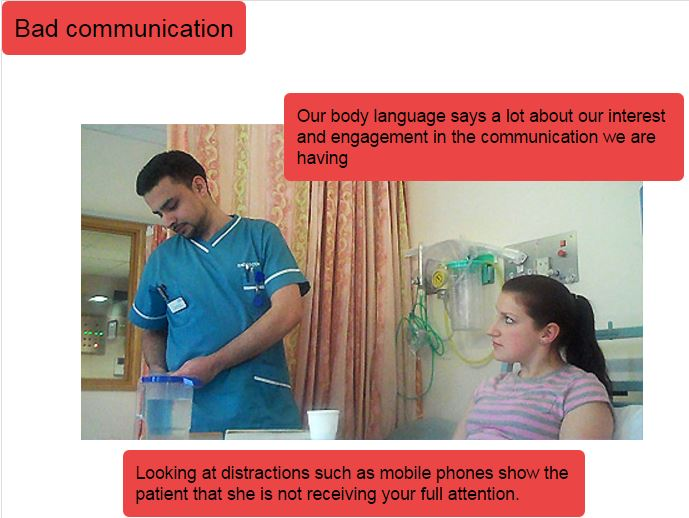 verbal and non verbal communication in health Make use of your child's verbal skills to help with social interactions and non-verbal experiences for example, giving a verbal explanation of visual material teach your child about non-verbal communication (facial expressions, gestures, etc.