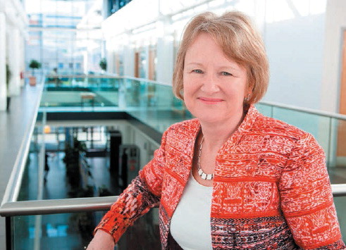 Professor Watkins believes her peerage can make a difference