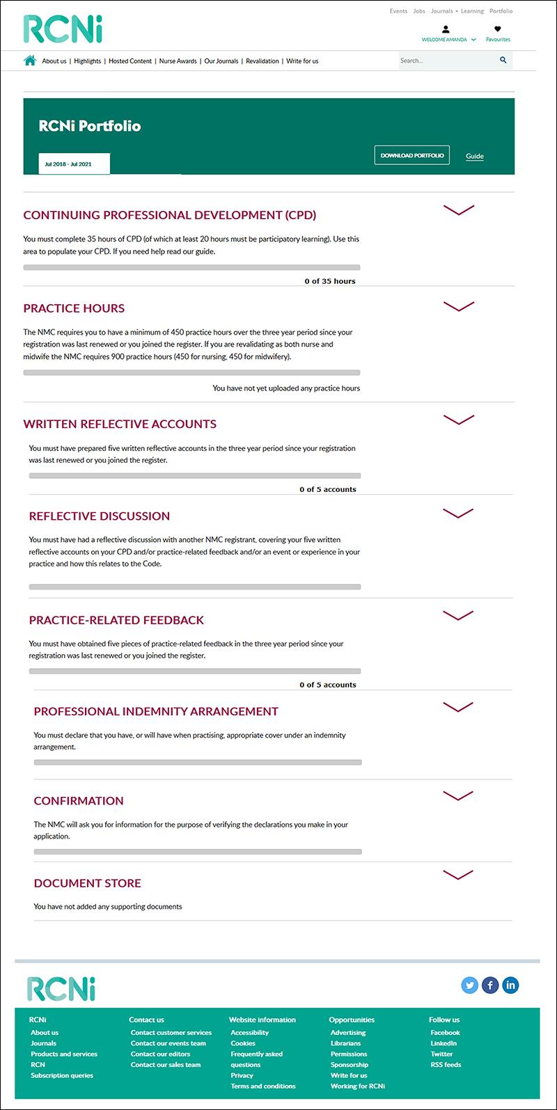 Your guide to the RCNi Portfolio   RCNi