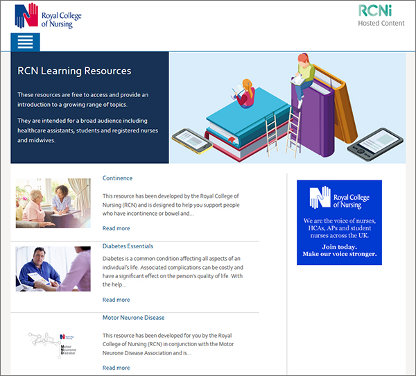 RCNi Hosted content