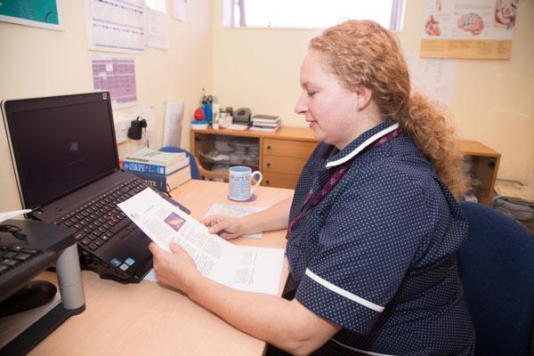discharge nurse specialist Team management of patients with heart assessment by a primary care nurse before patient discharge of and management of patients with heart failure.