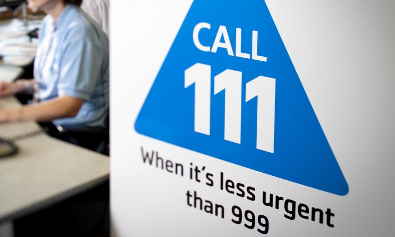111 phone line