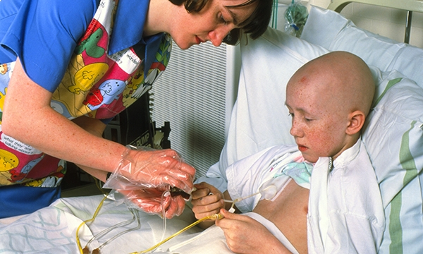 Chemotherapy for leukaemia
