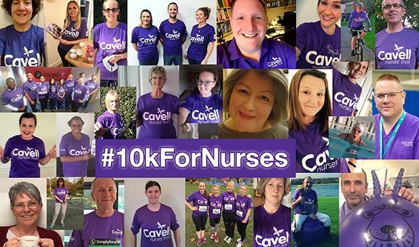10kForNurses campaign