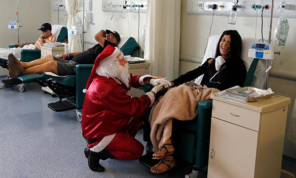 Chemotherapy at Christmas