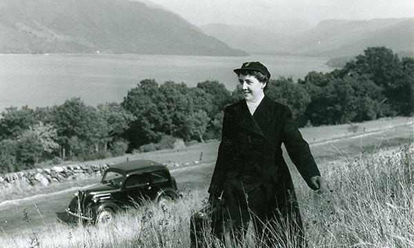 District nurse near Loch Fyne in Argyll