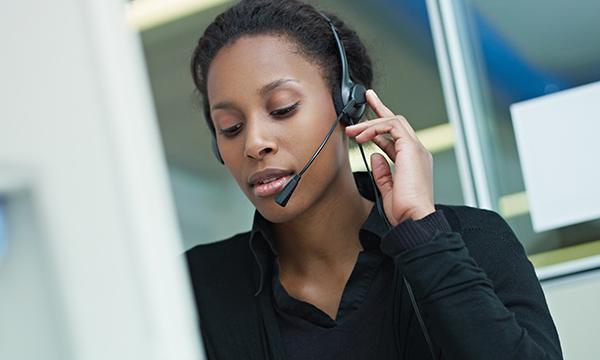 helpline call taker