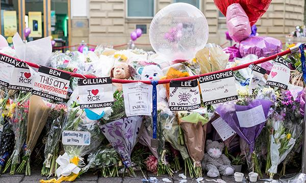 Manchester floral tributes