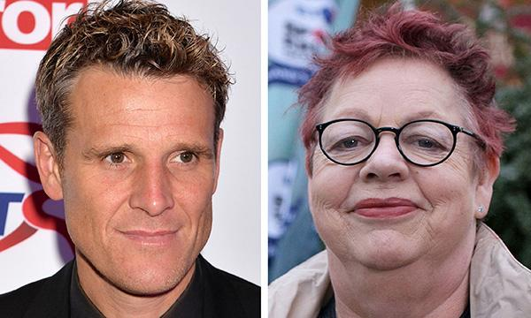 James Cracknell and Jo Brand
