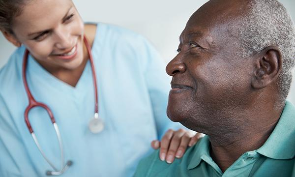 Nurse & BME patient