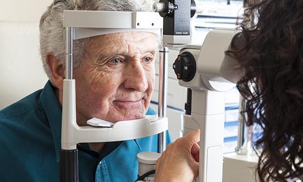 Visual health in older people