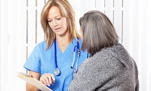 Giving patient information