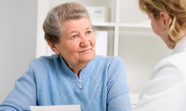 Reassuring a patient