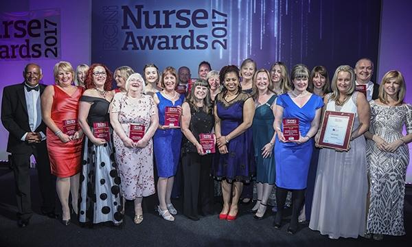 Nurse Awards winners 2017