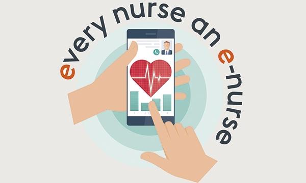 E-nurse logo